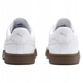 Buty Puma Smash v2 L M 365215 13 białe 3