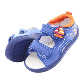 American Club niebieskie sandałki dziecięce TEN36 5