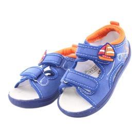 American Club niebieskie sandałki dziecięce TEN36 3