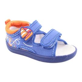 American Club niebieskie sandałki dziecięce TEN36 1
