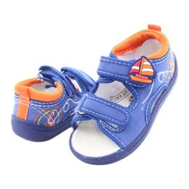American Club niebieskie sandałki dziecięce TEN36 4