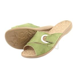 Befado obuwie damskie pu 265D008 zielone 4