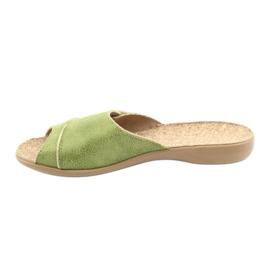 Befado obuwie damskie pu 265D008 zielone 2