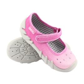 Befado obuwie dziecięce 109P171 różowe 4