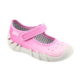 Befado obuwie dziecięce 109P171 różowe 2