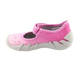 Befado obuwie dziecięce 109P171 różowe 3