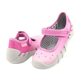 Befado obuwie dziecięce 109P171 różowe 5