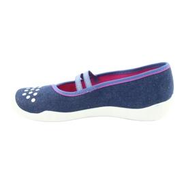 Befado obuwie dziecięce 116Y253 granatowe niebieskie 3
