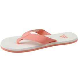 Japonki adidas Beach Thong 2 Jr CP9379 pomarańczowe 1