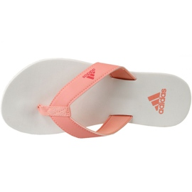 Japonki adidas Beach Thong 2 Jr CP9379 pomarańczowe 2