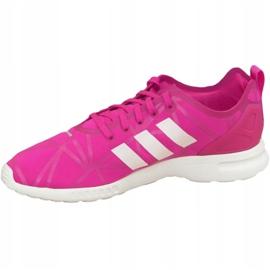 Buty adidas Zx Flux Adv Smooth W S79502 różowe 1