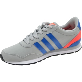 Buty adidas V Jog K Jr AW4147 szare 1