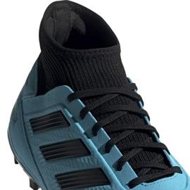 Buty piłkarskie adidas Predator 19.3 Fg M F35593 niebieskie 3