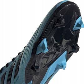 Buty piłkarskie adidas Predator 19.3 Fg M F35593 niebieskie 5