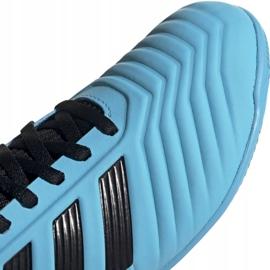Buty piłkarskie adidas Predator 19.3 In Jr G25807 niebieskie 3