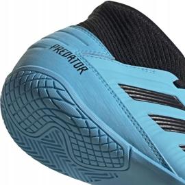 Buty piłkarskie adidas Predator 19.3 In Jr G25807 niebieskie 4