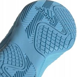 Buty piłkarskie adidas Predator 19.3 In Jr G25807 niebieskie 5