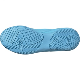 Buty piłkarskie adidas Predator 19.3 In Jr G25807 niebieskie 6