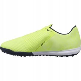 Buty piłkarskie Nike Phantom Venom Academy Tf Jr AO0571 717 zielone 1