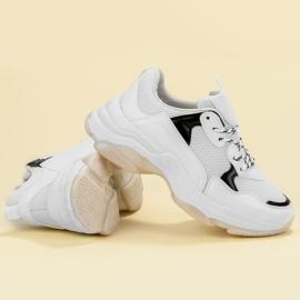 Small Swan Casualowe Sneakersy białe 2