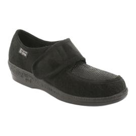 Befado obuwie damskie pu 984D012 czarne 2