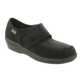 Befado obuwie damskie pu 984D012 czarne 1