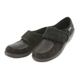 Befado obuwie damskie pu 984D012 czarne 3