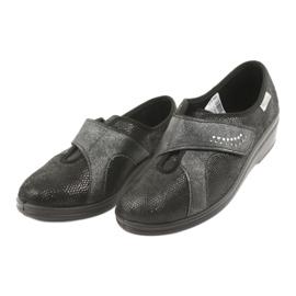 Befado obuwie damskie pu 032D002 czarne 4