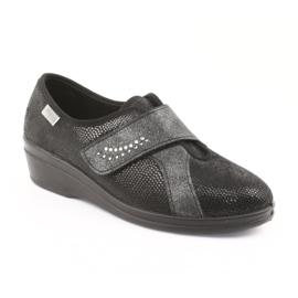 Befado obuwie damskie pu 032D002 czarne 2