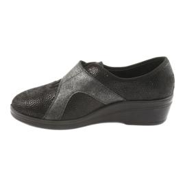 Befado obuwie damskie pu 032D002 czarne 3
