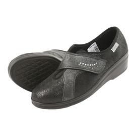Befado obuwie damskie pu 032D002 czarne 5