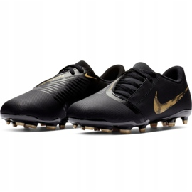Buty piłkarskie Nike Phantom Venom CLub Fg Jr AO0396-077 czarne wielokolorowe 3