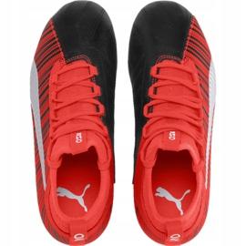Buty piłkarskie Puma One 5.3 Fg Ag JR105657 01 czerwono czarne wielokolorowe czerwone 1