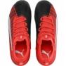 Buty piłkarskie Puma One 5.3 Fg Ag JR105657 01 czerwono czarne zdjęcie 1