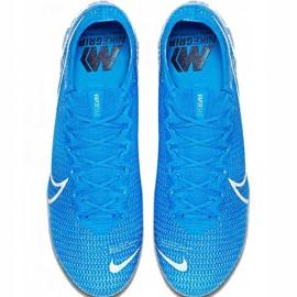 Buty piłkarskie Nike Mercurial Vapor 13 Elite SG-Pro Ac M AT7899 414 niebieskie 1