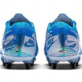Buty piłkarskie Nike Mercurial Vapor 13 Elite SG-Pro Ac M AT7899 414 niebieskie 3