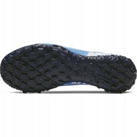 Buty piłkarskie Nike Mercurial Vapor 13 Academy Tf Jr AT8145 414 niebieskie 5