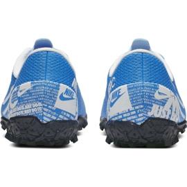 Buty piłkarskie Nike Mercurial Vapor 13 Academy Tf Jr AT8145 414 niebieskie 6