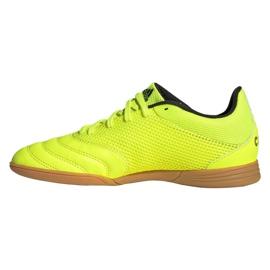 Buty adidas Copa 19.3 In Sala Jr EF0561 żółte 1