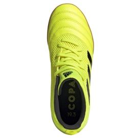 Buty adidas Copa 19.3 In Sala Jr EF0561 żółte 2