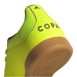 Buty adidas Copa 19.3 In Sala Jr EF0561 żółte 3