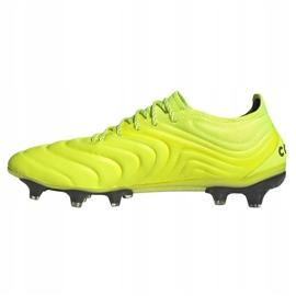 Buty piłkarskie adidas Copa 19.1 Fg M F35519 żółte żółty 1