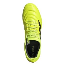 Buty piłkarskie adidas Copa 19.1 Fg M F35519 żółte żółty 2