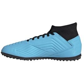 Buty piłkarskie adidas Predator 19.3 Tf Jr G25803 niebieskie niebieskie 1