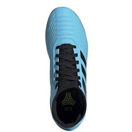 Buty piłkarskie adidas Predator 19.3 Tf Jr G25803 niebieskie niebieskie 2