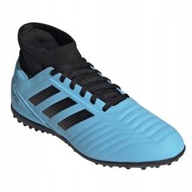 Buty piłkarskie adidas Predator 19.3 Tf Jr G25803 niebieskie niebieskie 3