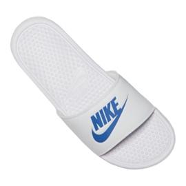 Klapki Nike Benassi Jdi Slide 343880-102 białe 5
