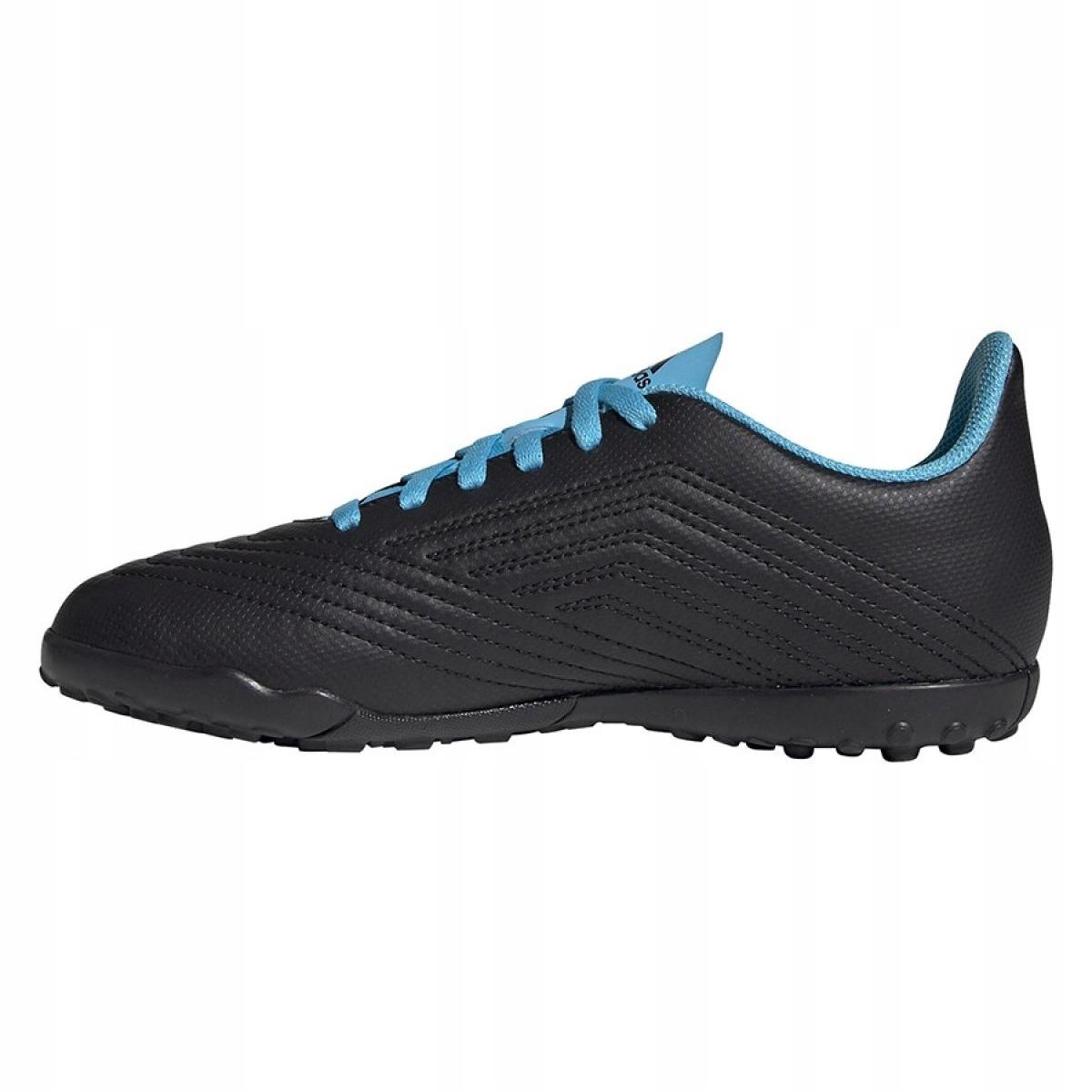 Buty piłkarskie adidas Predator 19.4 Tf Jr G25826 czarny czarne