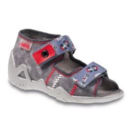 Befado obuwie dziecięce 250P067 szare 1
