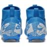 Buty piłkarskie Nike Mercurial Superfly 7 Academy FG/MG Jr AT8120 414 niebieskie zdjęcie 2